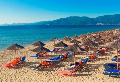 Почивка в Аспровалта, Гърция през април! 4 нощувки със закуски и вечери в хотел Alexander Studios, възможност за транспорт - Снимка