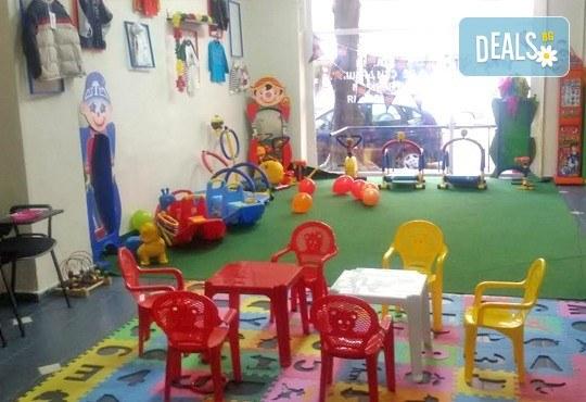 Детски рожден ден за 10 деца! 2 часа лудо парти с украса, парче пица, детски фитнес уреди, музика, възможност за аниматор Елза в Зали под наем Update - Снимка 7