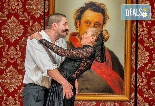 Гледайте Асен Блатечки, Койна Русева, Калин Врачански в Малко комедия, на 09.04. от 19ч, Театър Сълза и Смях, 1 билет - Снимка 8