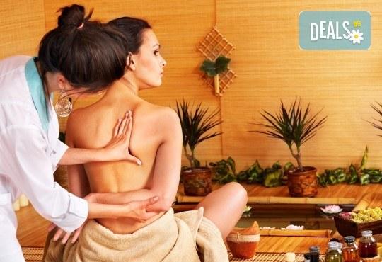 Релаксирайте с китайски масаж с бамбукови пръчки & метли за един или двама в масажно студио Spa Deluxe - Снимка 1