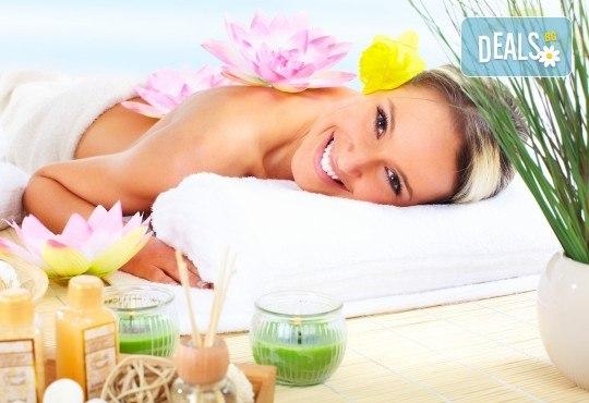 Хавайски релаксиращ масаж на цяло тяло ломи-ломи с етерична масла в масажно студио Spa Deluxe - Снимка 1