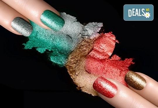 Красиви ръце! Маникюр с гел лак BlueSky или Cuccio и 10 рисувани декорации на супер цена в Салон за красота Angels of Beauty! - Снимка 8