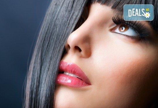 Гъсти, дълги и съблазнителни ресници! Поставяне на 3D или 4D мигли чрез технологията косъм по косъм в салон за красота Sassy! - Снимка 1