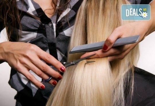 Нова прическа! Дамско подстригване при майстор-стилист на Wave Studio - Люлин! - Снимка 2