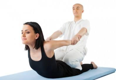 Спортен масаж на цяло тяло с айс гел мед и мляко, рефлексотерапия на стъпала или проблемна зона от масажно студио Галея - Снимка