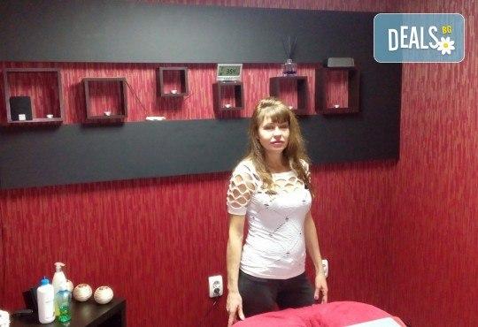 Спортен масаж на цяло тяло с айс гел мед и мляко, рефлексотерапия на стъпала или проблемна зона от масажно студио Галея - Снимка 6