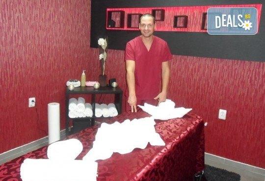 Спортен масаж на цяло тяло с айс гел мед и мляко, рефлексотерапия на стъпала или проблемна зона от масажно студио Галея - Снимка 7
