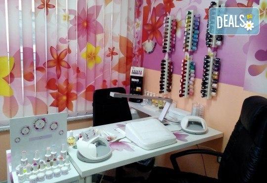 Почистване на лице с ултразвукова шпатула, ензимен пилинг и боровинкова терапия и бонус в студио MNJ - Снимка 7