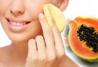 Почистване на лице с ултразвукова шпатула, ензимен пилинг и боровинкова терапия и бонус в студио MNJ - Снимка