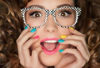 Облечете ноктите си в цвят с новите свежи пролетни цветове гел лак BLUESKY, SNB, Jessica, Pro Gel и бонуси в студио MNJ - Снимка