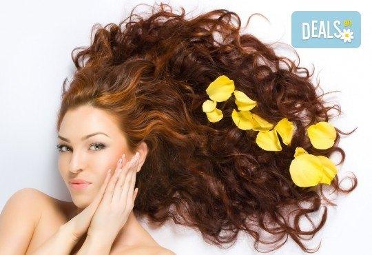 Неповторима визия с естествен акцент - балеаж с уникален продукт и арганова терапия за къса или дълга коса от Дерматокозметични центрове Енигма! - Снимка 2