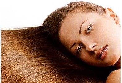 Колаген и кислород за коса Oximate терапия на Hipertin и изсушаване за къса или дълга коса от Дерматокозметични центрове Енигма! - Снимка