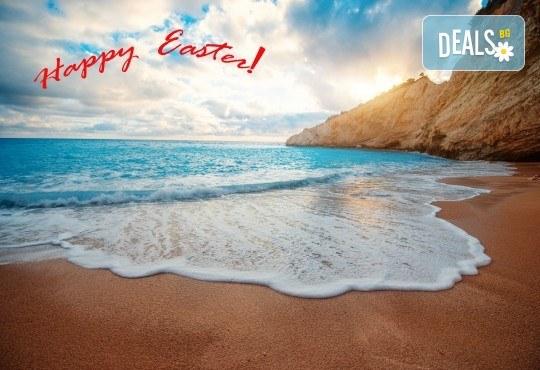 Великденска екскурзия до Йонийските острови в Гърция: 3 нощувки със закуски в Lidiya Beach 4*, транспорт и водач от Турс Клуб - Снимка 1