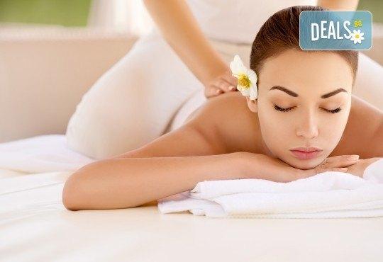 150-минутен SPA-MIX: Релаксиращ масаж на цяло тяло с рефлексотерапия на стъпала и длани, Hot Stone-терапия, кристало терапия и йонна детоксикация в GreenHealth - Снимка 1