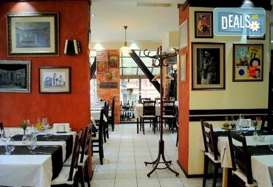 Агнешко печено със свежа салата, печени картофки и бутилка вино по избор от ресторанта в BG Wine Bar - Снимка 8
