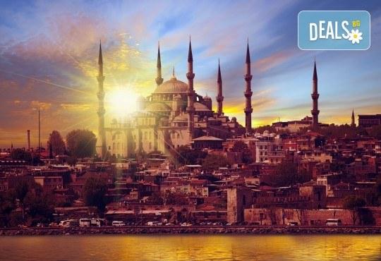 Великден в Истанбул с Глобус Турс! 3 нощувки със закуски в Буюук Шахинлер 4*, транспорт и посещение на Одрин - Снимка 1