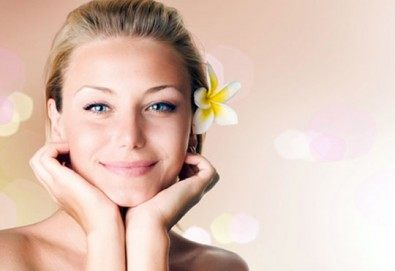 Ултразвуково почистване на лице, серум, маска и масаж на лицето в салон Bellissima Donna! - Снимка