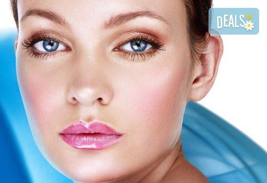 Подмладете кожата си с дълбока кислородна терапия за лице, масаж на лице и бонус окси маска в студио Д&В! - Снимка 1