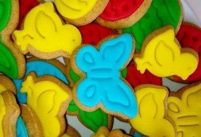 За Великден! 50 броя ръчно декорирани великденски бисквити от сладкарите на Muffin House! - Снимка