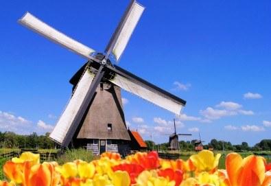 Самолетна екскурзия до Амстердам през май и юни 3 нощувки в хотел 2* или 3*, самолетен билет с включени летищни такси и ръчен багаж!! - Снимка