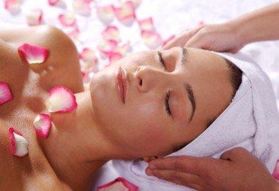 Подарък за любимата! 90 минути релакс с масло от роза: нежен пилинг, арома масаж на цяло тяло, маска за лице и зонотерапия в Спа център Senses Massage & Recreation! - Снимка