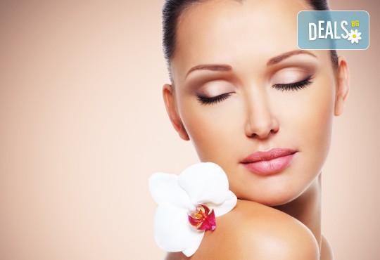 Красиво лице! Хидроколагенна терапия с подмладяващ ефект с медицинска козметика Skeyndor и ProfiDerm в студио за красота Angels of Beauty! - Снимка 1