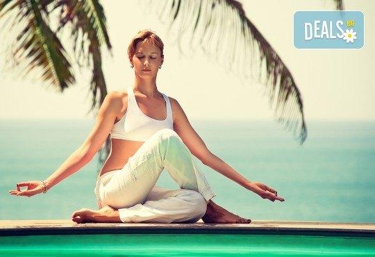 Подарете си релакс с 5 посещения на хатха йога практики в холистичен център Body-Mind-Spirit - мястото за йога и рекреация! - Снимка 1