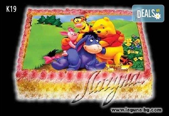 Торта с вкусен пълнеж и картинка по избор - от Виенски салон Лагуна