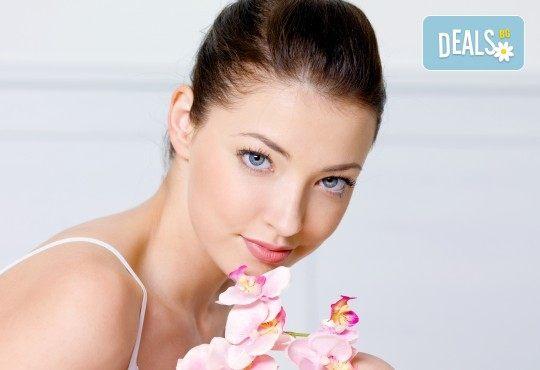 Свежа и сияйна кожа! Ултразвуково почистване на лице и маска според нуждите на кожата във Florance Beauty Studio - Снимка 1