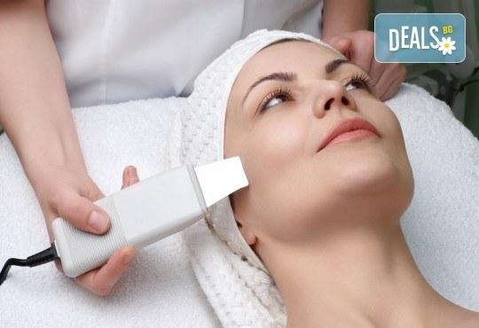 Почистване на лице, ултразвук, масаж и маска според типа кожа, в Студио за красота Galina! - Снимка 2