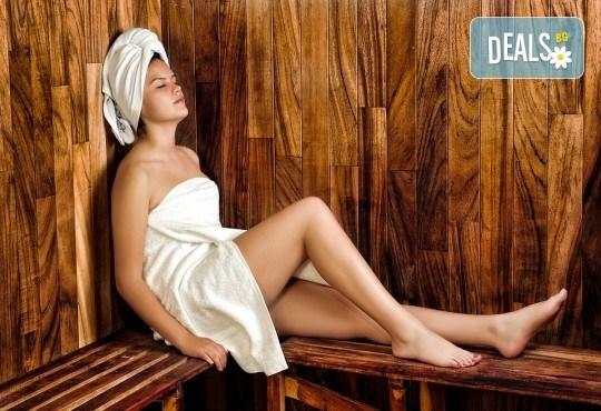 Отпуснете се със 120-минутно СПА изкушение - сауна, захарен пилинг, арома масаж и японски масаж на лице от Лаура стайл! - Снимка 1