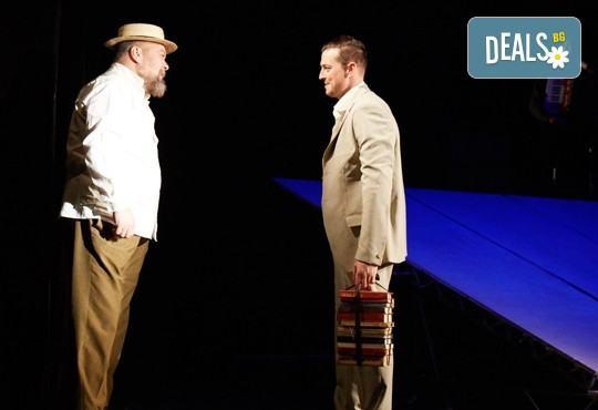 На театър! Гледайте Човекът, който искаше на 27-ми април (четвъртък) в МГТ Зад канала! - Снимка 4