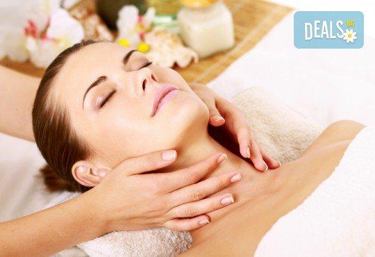 50-минутна японска масажна терапия на гръб и терапия на лице с билкови масла в Център за красота и здраве - Пловдив! - Снимка 2