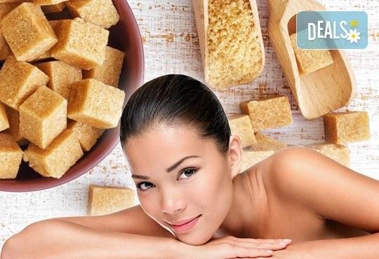 120-минути за Нея! Дълбокотъканен масаж на цяло тяло, пилинг терапия с кафява захар, зонотерапия и парафинова маска на ръце в Senses Massage & Recreation! - Снимка 1