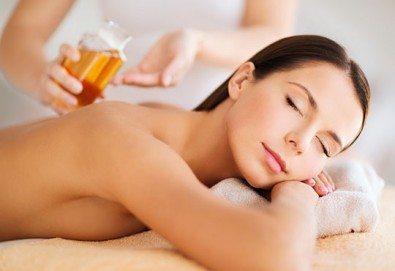 Релаксирайте с 60 минутен класически или релаксиращ масаж на цяло тяло и рефлексотерапия на стъпала в център Алфа Медика! - Снимка
