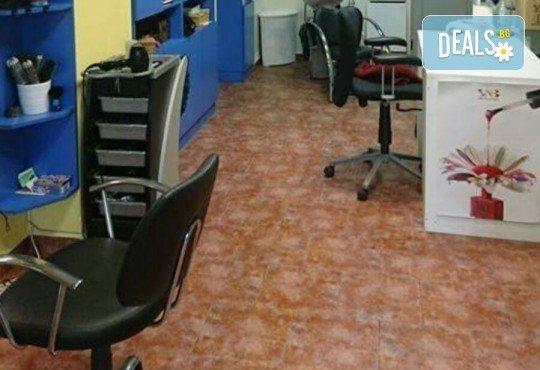 Подстригване, възстановяваща терапия за коса с продукти на Alfaparf и оформяне на прическа със сешоар в студио Ананда! - Снимка 2