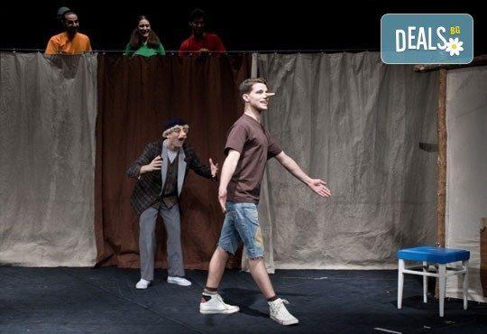 На театър с децата! Гледайте Пинокио в Младежки театър, на 22.04. от 11ч., Голяма сцена, един билет - Снимка 8