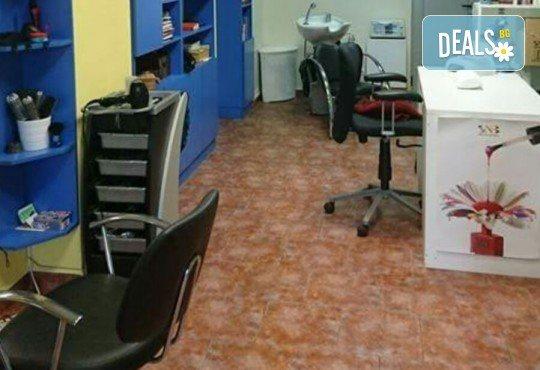 Боядисване с професионална боя BES, подстригване, маска и оформяне на косата със сешоар в студио Ананда! - Снимка 4