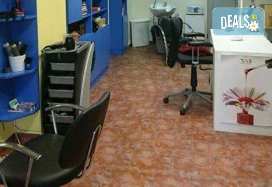 Боядисване с боя на клиента, арганова терапия с подстригване или сешоар в студио Ананда! - Снимка 2