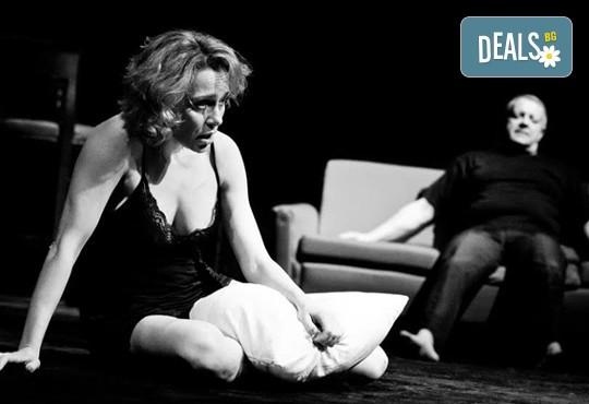 Не пропускайте! Влади Люцканов и Койна Русева в Часът на вълците, Младежкия театър на 11.05. от 19 ч, голяма сцена, билет за един - Снимка 1