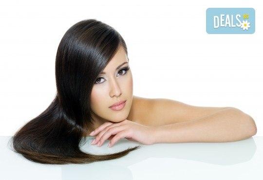 Иновативна процедура за премахване на цъфналите краища - полиране на коса в студио за красота М! - Снимка 2