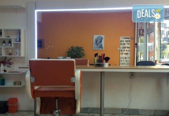 Иновативна процедура за премахване на цъфналите краища - полиране на коса в студио за красота М! - Снимка 5