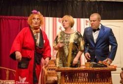 Гледайте щурата комедия Луда нощ по френски, на 20.05. събота от 19ч. в Театър Сълза и Смях! - Снимка