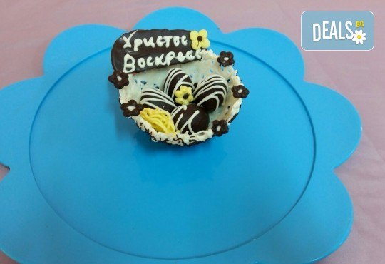Изкушаващо вкусно предложение - ръчно изработени шоколадови кошнички за Великден от сладкарница Черешка - Снимка 3