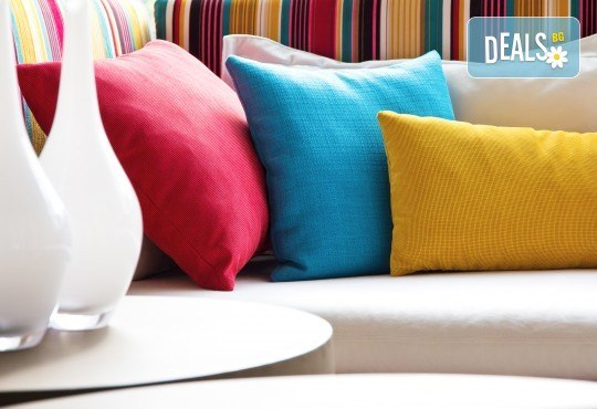Професионално машинно изпиране и подсушаване на 6 седящи места мека мебел от фирма Кими - Снимка 1