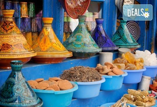 Екскурзия до перлите на Мароко - Агадир, Ессауира, Маракеш: 7 нощувки със закуски и вечери, двупосочен билет, летищни такси и програма - Снимка 1