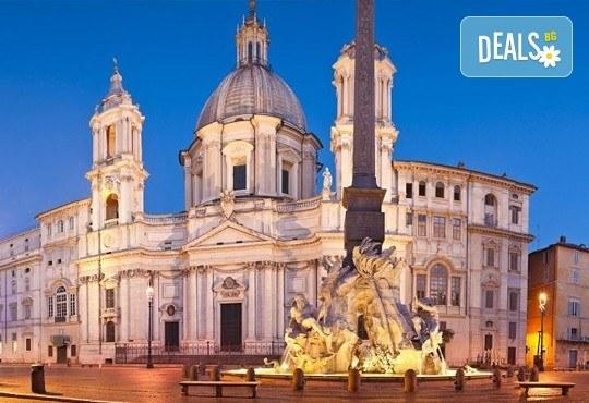 Потвърдена самолетна екскурзия до Рим - сърцето на Италия! 3 нощувки със закуски в хотел 3*, самолетен билет, трансфери и панорамна обиколка! - Снимка 13