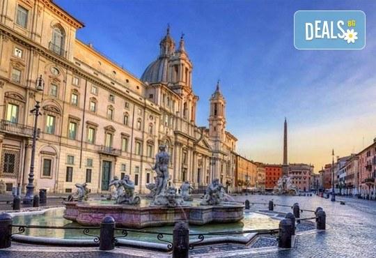 Потвърдена самолетна екскурзия до Рим - сърцето на Италия! 3 нощувки със закуски в хотел 3*, самолетен билет, трансфери и панорамна обиколка! - Снимка 6