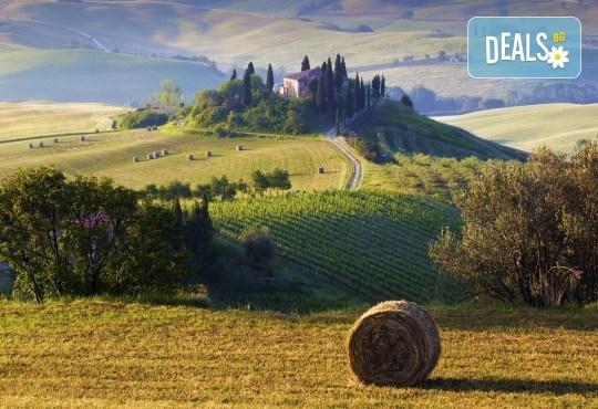 От май до октомври в Тоскана, Италия: 4 нощувки със закуски, транспорт