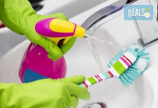 Отдайте се на заслужена почивка и оставете почистването на санитарните помещения на QUICKCLEAN! - Снимка 1
